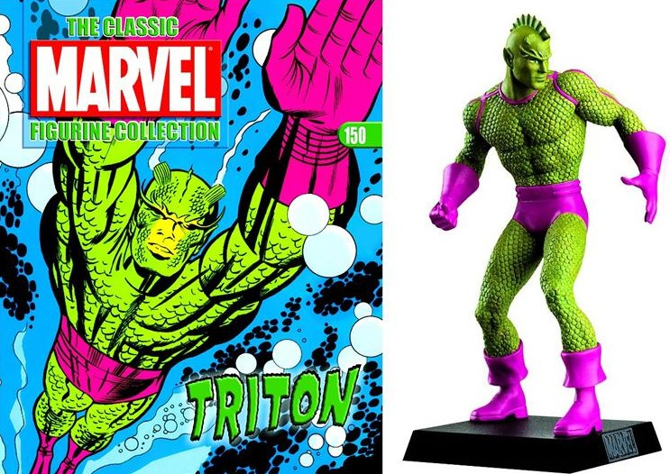 Collection Marvel Super Heroes Eaglemoss Triton